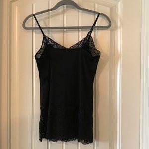 White House Black Market Black Camisole